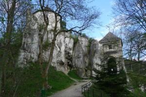 Ruiny Zamku Kazimierzowskiego w Ojcowie