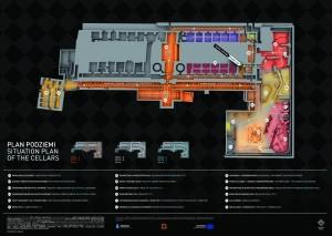 Plan ekspozycji (źródło: Muzeum Miasta Krakowa)